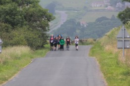 Cross the UK: HTCS Duke of Edinburgh Final Expedition North Yorks Moors Team Work Striding Confidently
