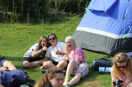 Cross the UK: HTCS Duke of Edinburgh Silver Final Expedition Thumbs Up at Raven Gill Scout Campsite