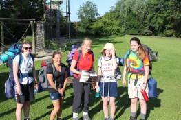 Cross the UK: HTCS Duke of Edinburgh Silver Final Expedition 'Team Work' at Carlton OEC