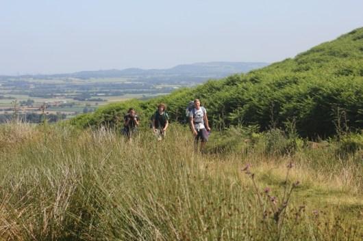 Cross the UK: HTCS Duke of Edinburgh Silver Final Expedition Los Tankos Final Climb to Osmotherley