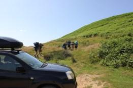 Cross the UK: HTCS Duke of Edinburgh Silver Final Expedition Los Tankos Final Climb to Cod Beck