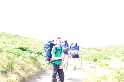 Cross the UK: HTCS Duke of Edinburgh Silver Final Expedition Jackson Closing Climb