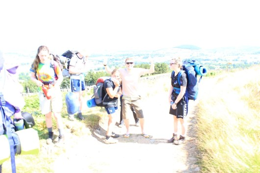 Cross the UK: HTCS Duke of Edinburgh Silver Final Expedition Closing Climb
