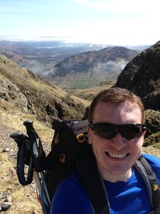 Putting kit to the test above Great Langdale