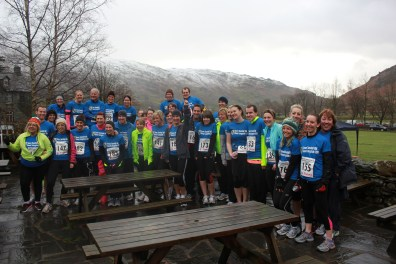 The Team Tunstall 10K for the Great Langdale Christmas Pudding Run