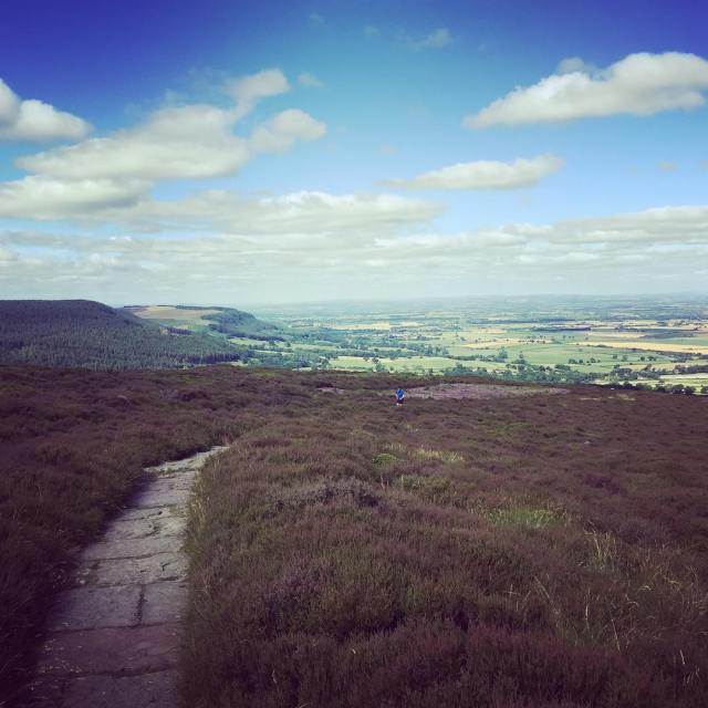 Beautiful day for a fell and trail run Stoney tacklinghellip