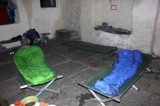 Dubs hut beds