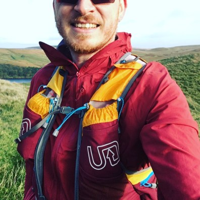 Ultimate Direction AK Mountain Vest 3.0 - Testing on the Saddleworth Moor during Storm Brian