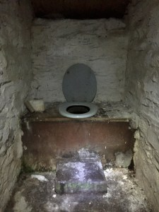 Mosedale Cottage Bothy composting toilet. A feast for every sense!