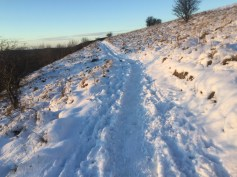 Snowy North York Moors