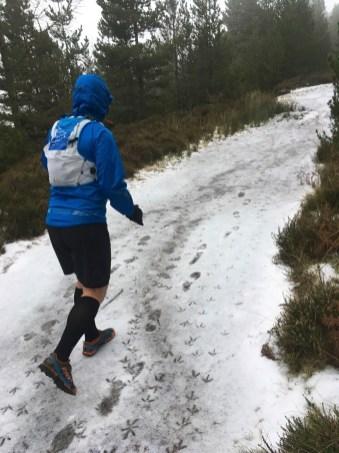 Mick ultramarathon training in the North York Moors with his Raidlight Responsiv Lazerdry 18L Race Vest