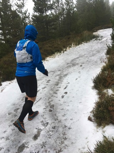 Mick ultramarathon training in the North York Moors with his Raidlight Responsiv Lazerdry 18L Race Vest