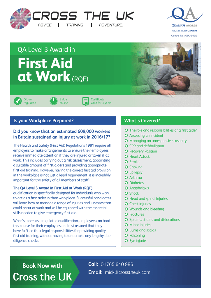 QA_Centre_Marketing_-_First_Aid_at_Work_Flyer