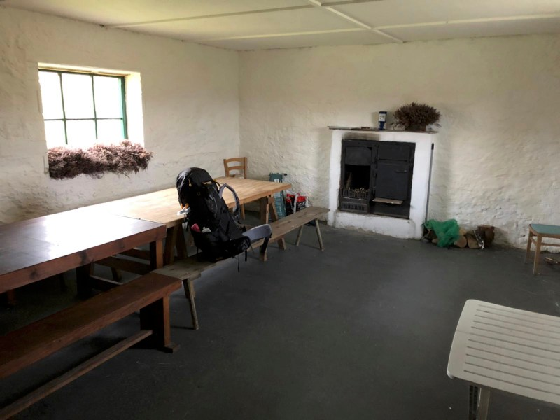 Wensleydale Bothy Dent's Houses Inside