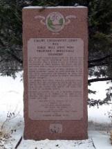 Osage Hills State Park's CCC Memorial Marker