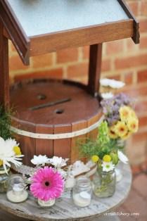 DIY Hessian Mason Jars