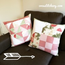 Front of Love Heart Cushions