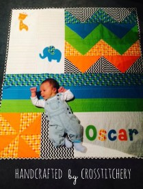 Oscar's Baby Quilt