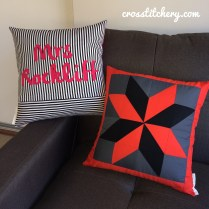 Completed Cushion Front & Back
