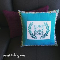 Ombre Home Sweet Home Cushion