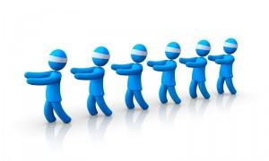 Bewerber auf der Suche nach der richtigen Jobbörse
