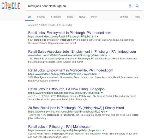 Revolution von Stellenanzeigen, Google, Glassdor, indeed