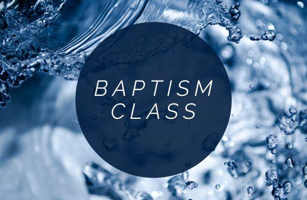Baptism Class part 2 Image