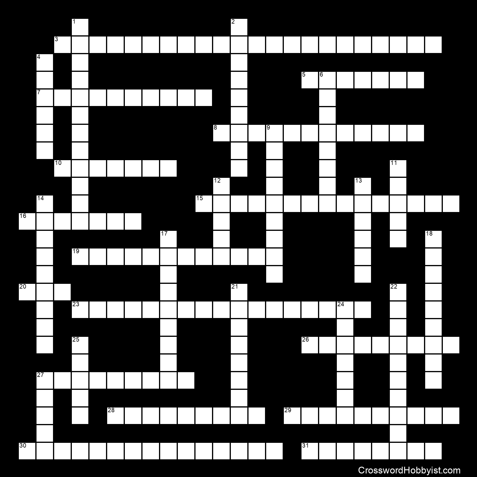 American Government Chapters 1 3 Crossword