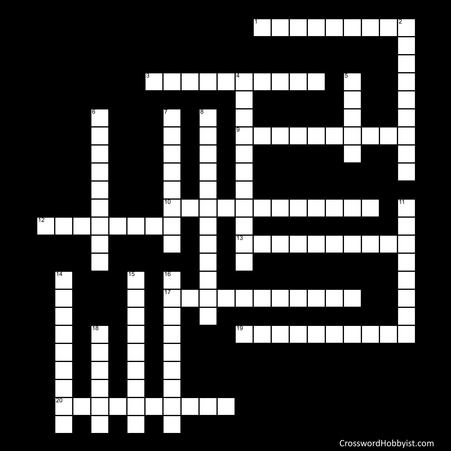 Biology Crossword Review