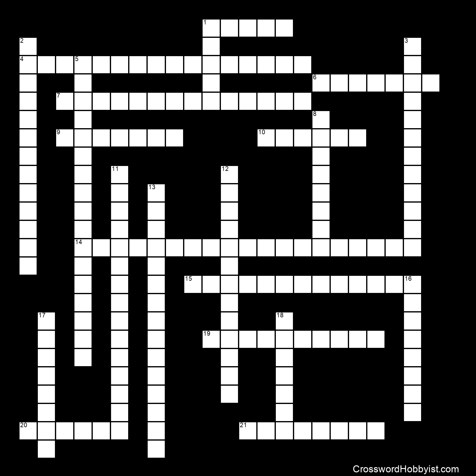 Geometry 10 11crossword Puzzle