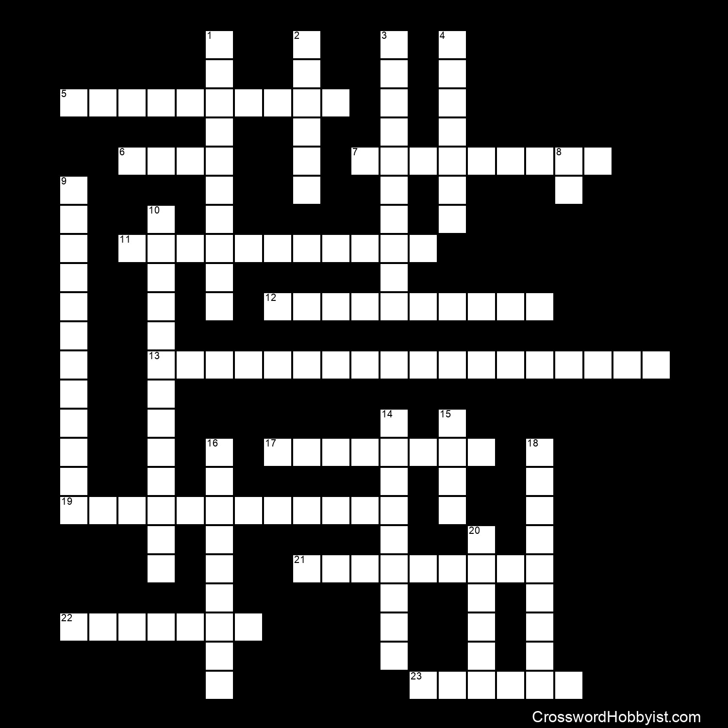 Sun And Stars Crossword Puzzle