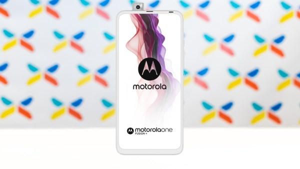Motorola One Fusion+ 6GB/128GB Biela_z predu