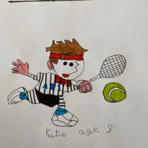 Drawing by Kate - Aged 8