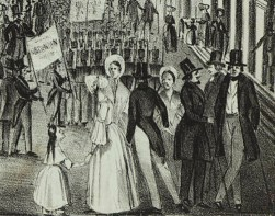 Detail showing the Croton Water Celebration parade.
