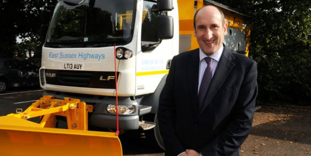 Roger Williams, Head of Highways, East Sussex County Council