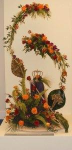 Silver winning floral design Crowborough Flower Club