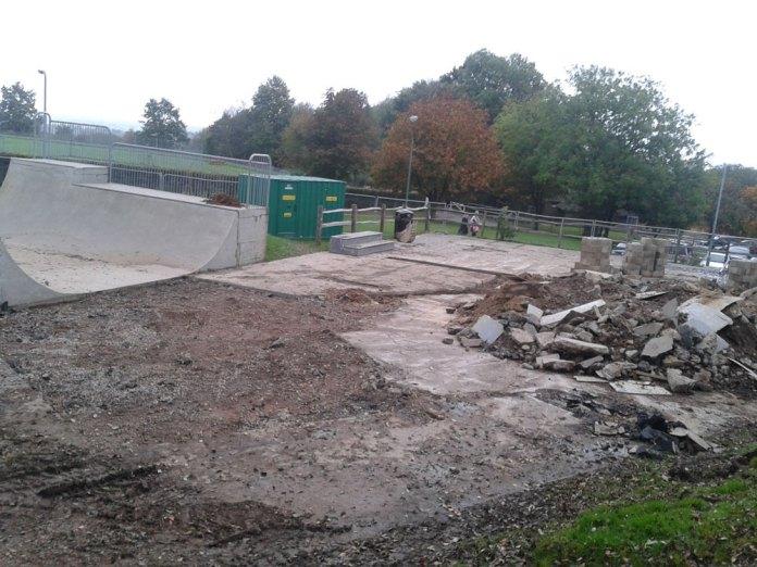 Work starts on Goldsmiths Skatepark