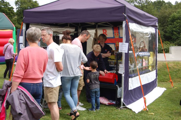 Stall at the Jarvis Brook Fun Day
