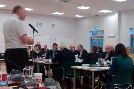 Giles York Chief Constable Wealden Council
