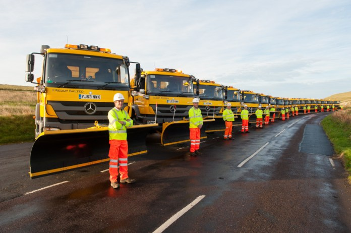 18 new gritters join the East Sussex fleet