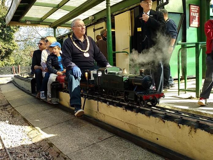 Mayor Crowborough Railway