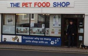 The Pet Food Shop Croft Road in Crowborough