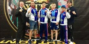 Assassins Gym Crowborough Unifield World Championships Kickboxing and K-1