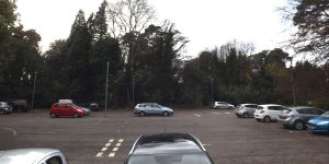 Mead House car park crowborough