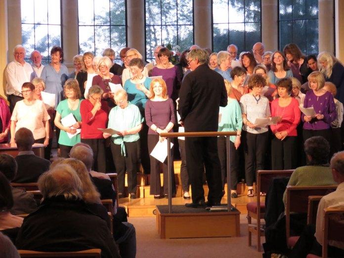 Joy of Singing workshops All Saints Church Crowborough 14 may 2017