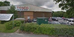 Tesco store Sybron Way, Crowborough