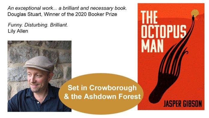 "Book ""The Octopus Man"" by Jasper Gibson"