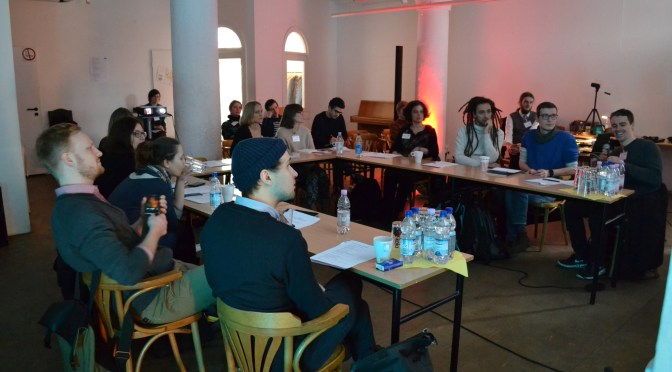 INTRE:FACE conference archives: Hannes Bajohr presenting What is digital literature
