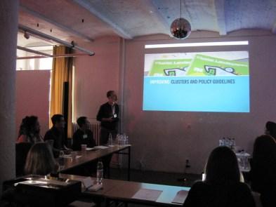 Tobias Koch presenting ARS BALTICA