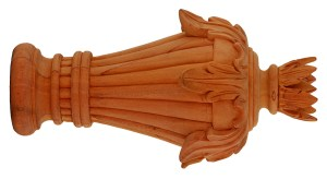 Crowder Designs Hand Carved Finial Collection | Palmyra